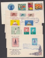 5 Versch. FDC Aus 1968, Je Pass. ESst. - Iran