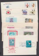 5 Versch. FDC Aus 1969/77, Je Pass. ESst. - Iran