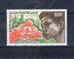 Centrafrique. Poste Aérienne. Europafrique 1973 - Centrafricaine (République)