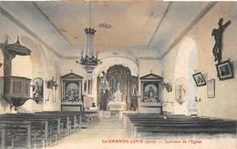 La Grande Loye Canton Montbarrey Intérieur église - Sonstige Gemeinden