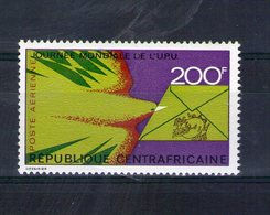 Centrafrique. Poste Aérienne. Journée Mondiale De L'UPU - Centrafricaine (République)