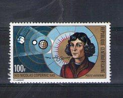 Centrafrique. Poste Aérienne. 500eme Anniversaire De La Naissance De Copernic - Centrafricaine (République)