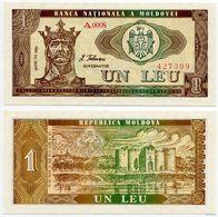 Moldova - 1 Leu 1992 UNC - Moldova