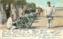 MEXICO - Maniobras De Artillera. - Mexique