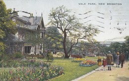 Postcard Vale Park New Brighton PU 1930 My Ref  B13020 - Other