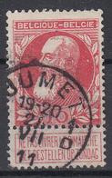 BELGIË - OPB - 1905 - Nr 74 (JUMET (1 D)) - 1905 Thick Beard