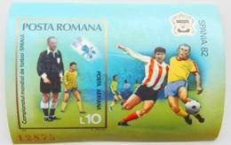 #  Romania 1982**Mi.bl.185  World Cup 1982 – Spain ,MNH [2;18] - 1982 – Espagne