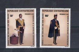 Centrafrique. Poste Aérienne. Président Bokassa - Centrafricaine (République)