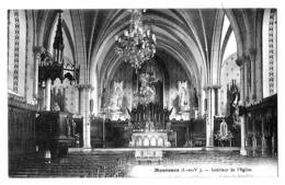 Montours (Ille-et-Vilaine) Intérieur De L'église - Autres Communes