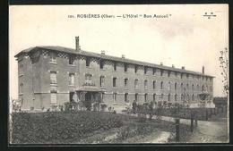 CPA Rosières, L`Hotel Bon Accueil - Non Classés