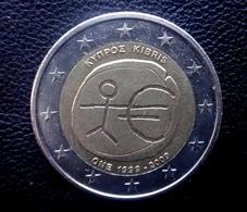CYPRUS 2009  -- 2 Euro Gedenkmünze EMU  Münze  Coin CIRCULATED  - 1 - Cyprus