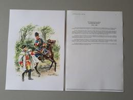 Affiche : Les Français Au Canada, Le Corps De Cavalerie En Nouvelle France 1759  & - Documents