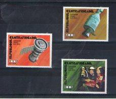 Centrafrique. Poste Aérienne. Coopération Spatiale URSS-USA - Centrafricaine (République)