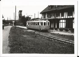 Photo - Train - Motice BTB - Suisse -  Leymen - à Identifier - Trains
