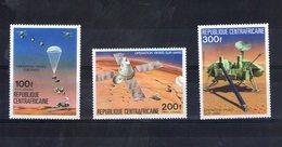 Centrafrique. Poste Aérienne. Opération Viking Sur Mars - Centrafricaine (République)