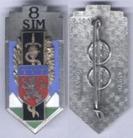 Insigne De La 8e Section D'Infirmiers Militaire - Services Médicaux