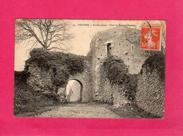 77 Seine Et Marne, PROVINS, Fortifications, Tour Et Poterne Faneron, (J. Lefebvre) - Provins