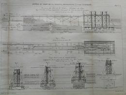 ANNALES DES PONTS Et CHAUSSEES (Dep 17) - Jetées Du Port De La Pallice - 1889 - Macquet (CLD99) - Travaux Publics