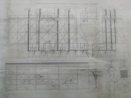 ANNALES DES PONTS Et CHAUSSEES (Dep 17) - Jetées Du Port De La Pallice - 1889 - Macquet (CLD100) - Travaux Publics