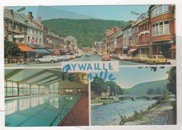 PROVINCE DE LIEGE - CP 3 VUES AYWAILLE - EDIT. THILL S.A. BRUXELLES N° 217/12 - CIRCULEE EN 1977 ? - Aywaille
