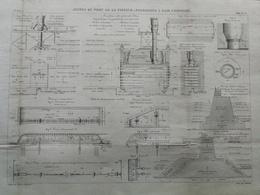ANNALES DES PONTS Et CHAUSSEES (Dep 17) - Jetées Du Port De La Pallice - 1889 - Macquet (CLE01) - Travaux Publics