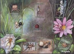 Südafrika 1565-1574 Folienblatt (kompl.Ausg.) Postfrisch 2004 Spinnen - Südafrika (1961-...)