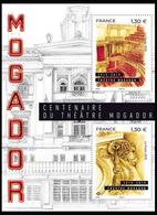 France 2019 - Yv N° F5313 ** - Centenaire Du Théâtre Mogador (timbres 5313 & 5314) - Frankreich