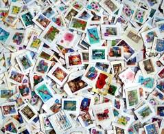 AUSTRALIE  :  LOT VRAC 260 Gr  TIMBRES SUR FRAGMENT / SOIT MINIMUM 1400 TIMBRES Environ (lot 5) - Lots & Kiloware (mixtures) - Min. 1000 Stamps