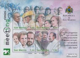 San Marino Block35 (kompl.Ausg.) Postfrisch 2004 Meeting Rimini - San Marino