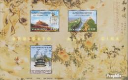San Marino Block34 (kompl.Ausg.) Postfrisch 2004 China-Freundschaft - San Marino
