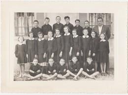 VICOLUNGO (NOVARA) -FOTO ORIGINALE SCOLARESCA CLASSI 4 + 5 (50119) - Persone Identificate