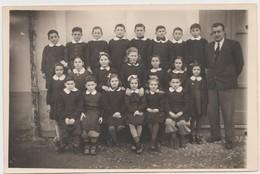 GRANOZZO (NOVARA) -FOTO ORIGINALE SCOLARESCA CLASSI 3 +4 (50119) - Persone Identificate