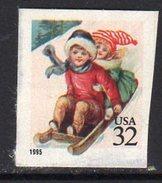 USA 1995 Children Sledding Teller Machine Stamp, MNH (SG 3157) - United States