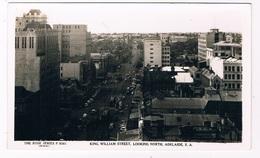 AUS-314   ADELAIDE : King William Street, Looking North - Adelaide