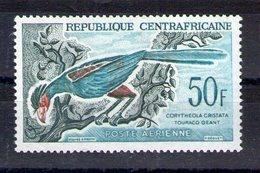 Centrafrique. Poste Aérienne. Oiseau. Touraco Géant - Centrafricaine (République)