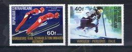 Centrafrique. Vainqueurs Des Jeux Olympiques D'hiver - Centrafricaine (République)