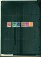 TANZANIA TIMBRS-TAXE  6 VAL NEUFS A PARTIR DE 0.75 EUROS - Tanzanie (1964-...)
