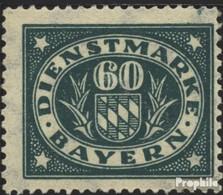 Bavière D51 Neuf Avec Gomme Originale 1920 Adieu La Série - Bayern
