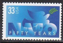 USA 1999 50th Anniversary Of NATO, MNH (SG 3695) - United States