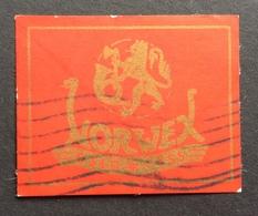 NORWEX  OSLO 1955  CON STEMMA  POSTER STAMP  ETICHETTA PUBBLICITARIA  ERINNOFILO - Erinnofilia