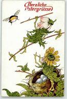 52675108 - Hummel Blumen Personifiziert Ostern Tucks Ak Oilette 260 - Cultivation