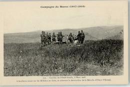 52227728 - Campagne Du Maroc 1907 1908 Combat De Oued-Aceila Artillerie Dakra Mehalla Omar Ketani - Marokko