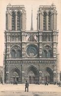 Cpa 75 Paris 1 Notre Dame - Notre Dame De Paris