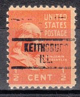 USA Precancel Vorausentwertung Preo, Locals Illinois, Kaithsburg 734 - Vereinigte Staaten