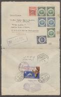 BOLIVIA. 1935. Oruro - Macau, China Portuguesa, Asia (9 Feb 35). Reg Multifkd Env 42c Rate Tied Color Cafiaspirina Bayer - Bolivie
