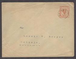 MONTENEGRO. C.1900. Cettigne Local Usage. 5n Red Orange Stat Env. - Montenegro