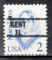 USA Precancel Vorausentwertung Preo, Locals Illinois, Kent 895 - Etats-Unis