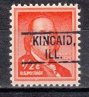 USA Precancel Vorausentwertung Preo, Locals Illinois, Kincaid 802 - Vereinigte Staaten
