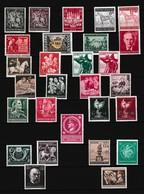 Duitse Rijk Kleine Verzameling *, Zeer Mooi Lot 4172 - Timbres