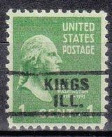 USA Precancel Vorausentwertung Preo, Locals Illinois, Kings 729 - Vereinigte Staaten
